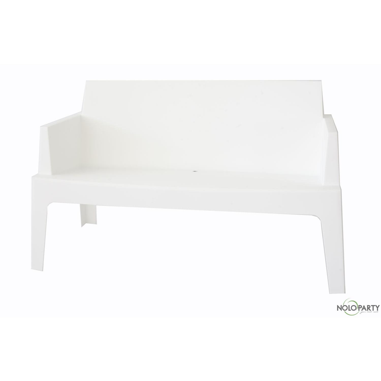 Divanetto box bianco for Salottini esterno