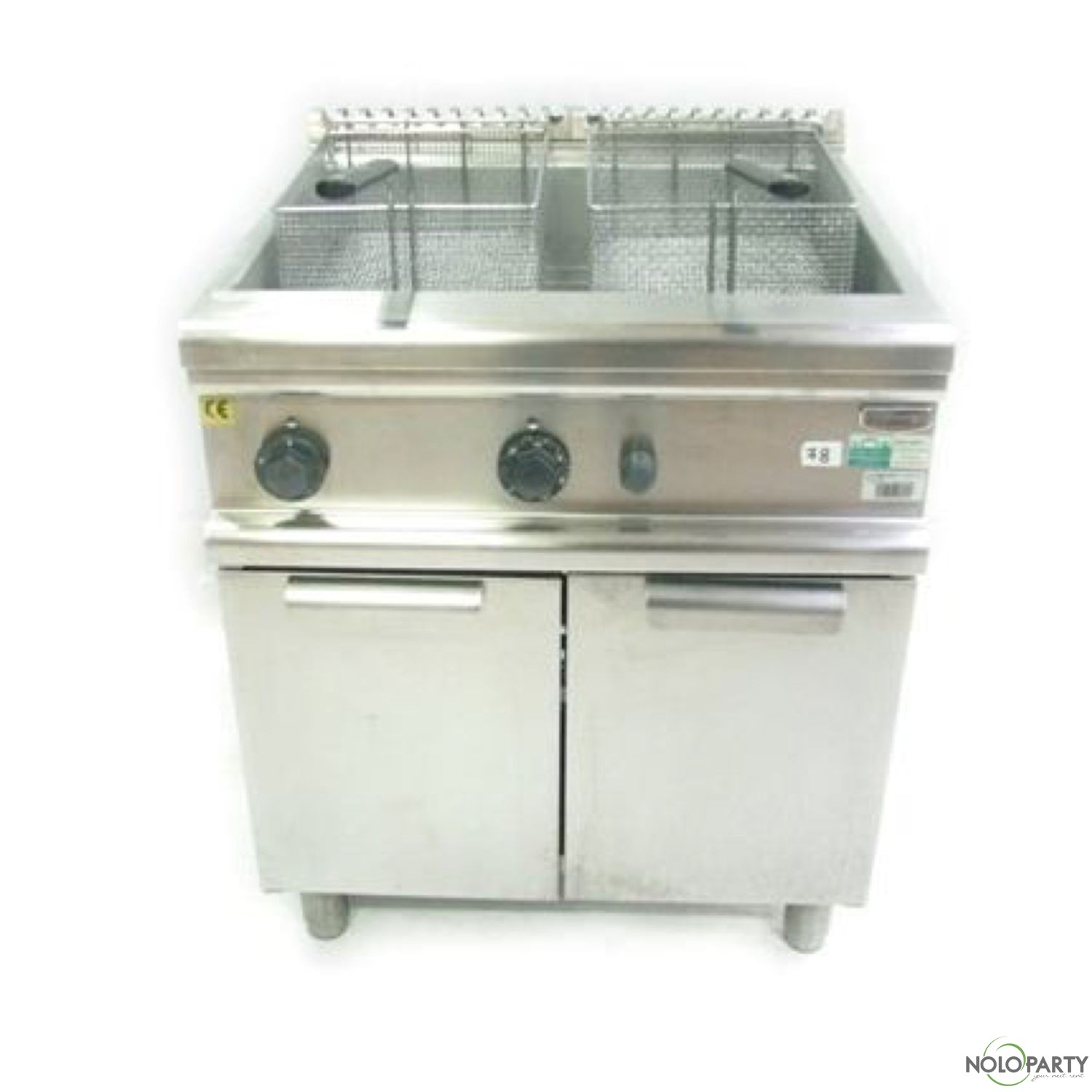 Friggitrice gas lt 34 con mobile electrolux for Friggitrice industriale a gas