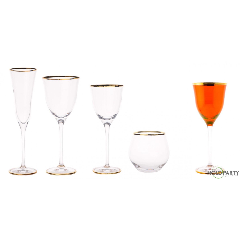 Bicchieri cristallo linea fo - Disposizione bicchieri a tavola ...