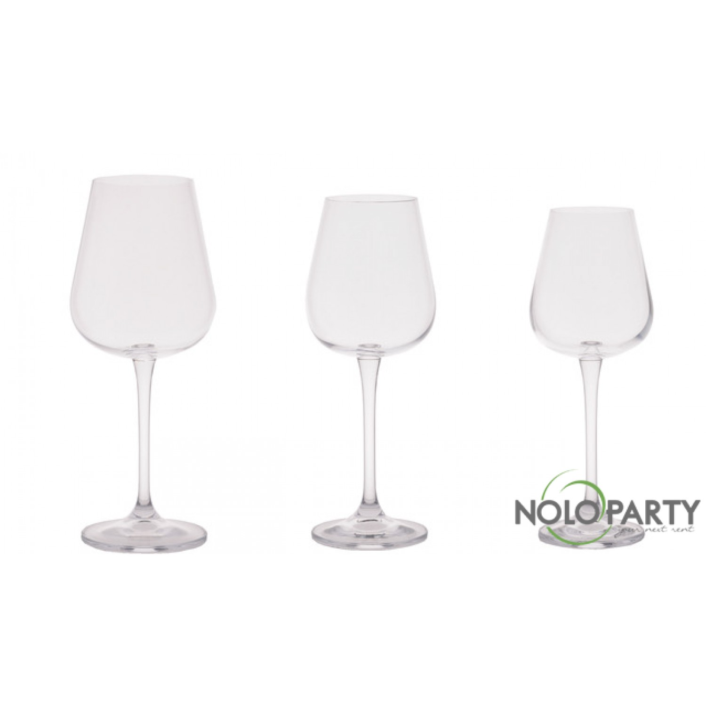 Bicchieri cristallo linea u - Disposizione bicchieri a tavola ...