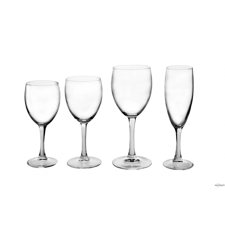 Bicchieri vetro cristallino linea p - Disposizione bicchieri in tavola ...