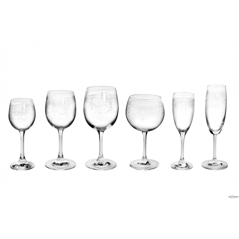 Bicchieri cristallo linea r - Disposizione bicchieri in tavola ...