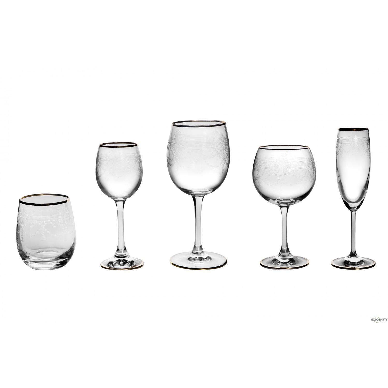 Bicchieri cristallo linea ro for Bicchieri cristallo