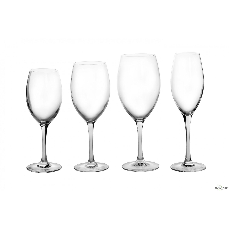 Bicchieri vetro cristallino linea b - Disposizione bicchieri in tavola ...