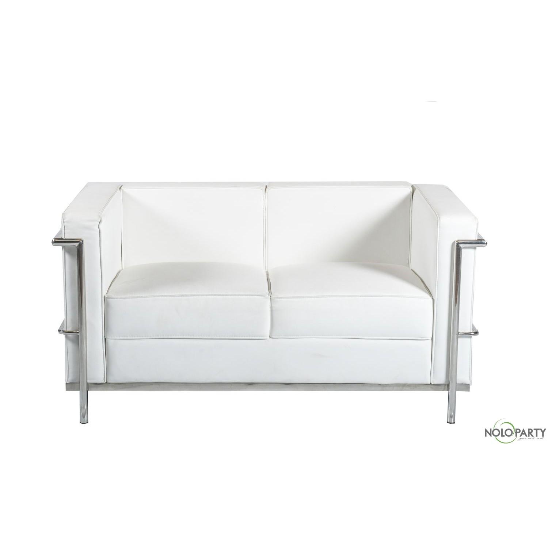 Divano Design Le Corbusier Bianco