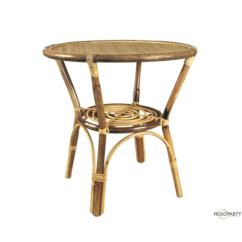 Tavolino bamboo naturale for Tavolino plexiglass ikea