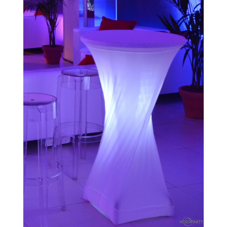 Tavolino Mangiainpiedi Luminoso