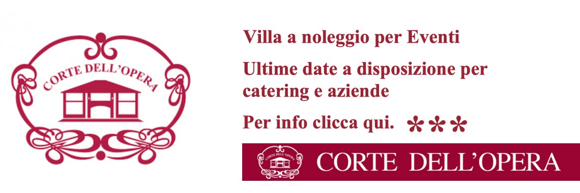 villa wedding eventi
